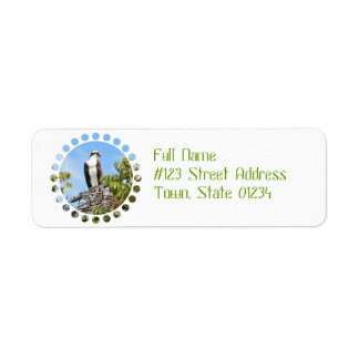 Osprey Return Address Label