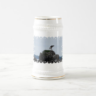 Osprey Landing Beer Stein Mugs