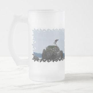 Osprey Landing Frosted Beer Mug