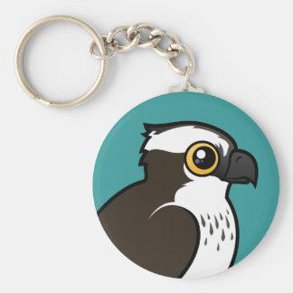 Osprey lindo llavero redondo tipo pin