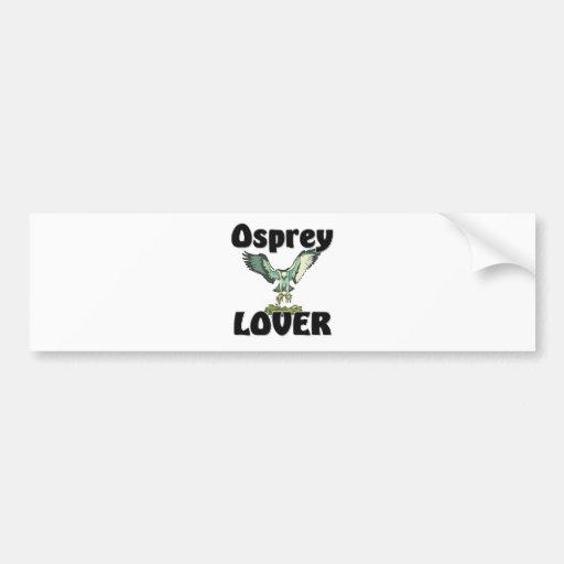 Osprey Lover Bumper Sticker