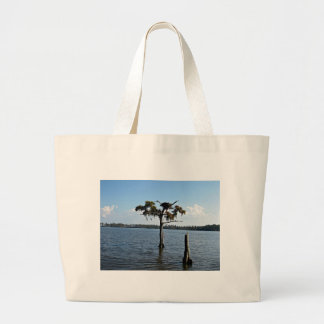 Osprey Nest in Tree Canvas Bags