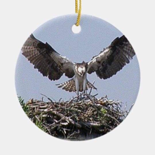 Osprey Nest Ornament