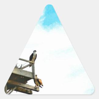 Osprey Nest Triangle Sticker