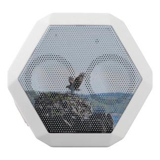 Osprey on Nest White Bluetooth Speaker