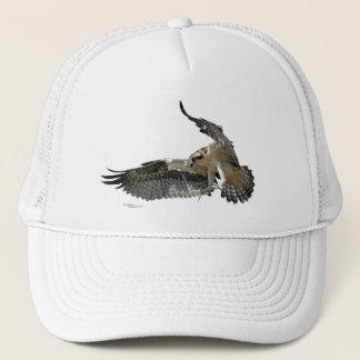 Osprey or hawk flying Hat