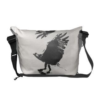 Osprey Raptor Bird Wildlife Animals Wetlands Messenger Bag