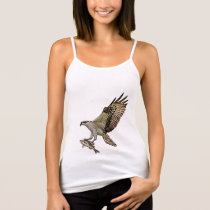 Osprey with a fish tank top