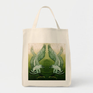 Ospreys Grocery Tote in Natural Tote Bags
