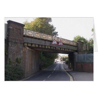 Ospringe Road Railway Bridge, Faversham, Kent Card