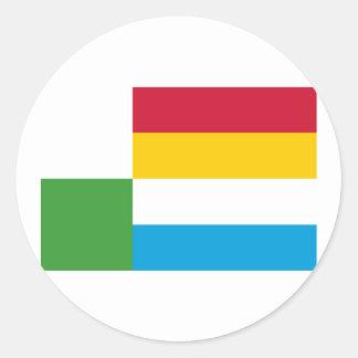 Oss, Netherlands Classic Round Sticker
