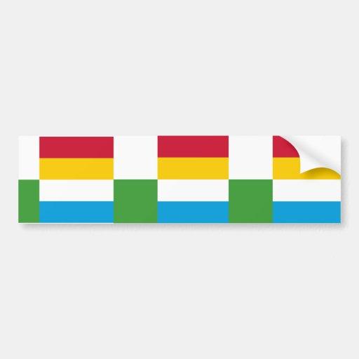 Oss, Países Bajos Etiqueta De Parachoque
