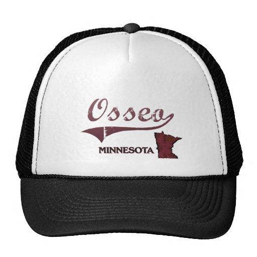 Osseo Minnesota City Classic Trucker Hat