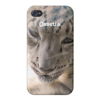 Ossetia Snow Leopard iPhone 4/4S Case