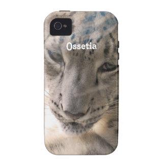 Ossetia Snow Leopard iPhone 4/4S Cases