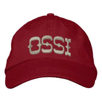 OSSI EMBROIDERED BASEBALL CAP