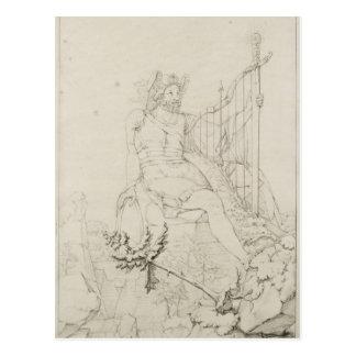 Ossian, 1804-5 postcard
