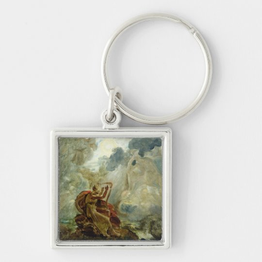Ossian Conjures Up the Spirits Keychain