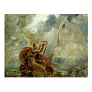 Ossian Conjures Up the Spirits Post Cards