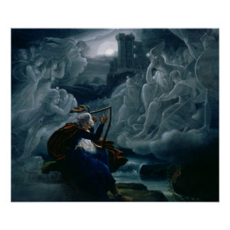 Ossian conjures up the spirits poster