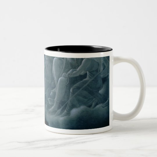 Ossian conjures up the spirits Two-Tone coffee mug