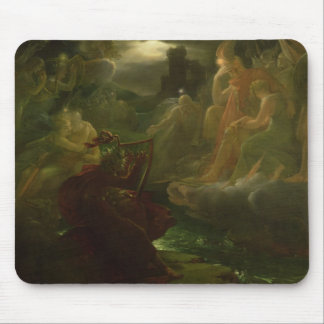 Ossian Conjuring up the Spirits of the River Mouse Pad