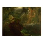 Ossian Conjuring up the Spirits of the River Postcards