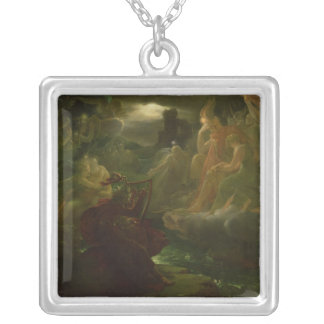 Ossian Conjuring up the Spirits of the River Silver Plated Necklace