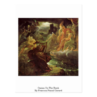 Ossian On The Bank By Francois Pascal Gerard Post Cards