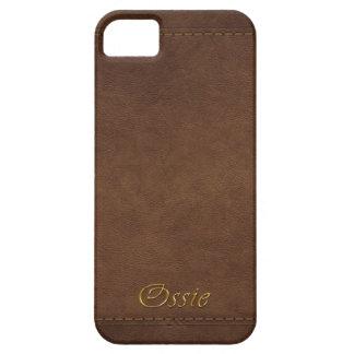 OSSIE Leather-look Customised Phone Case