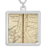 Ossining, New York Square Pendant Necklace