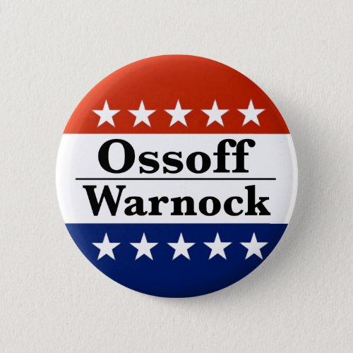 Ossoff Warnock Georgia Runoffs Button