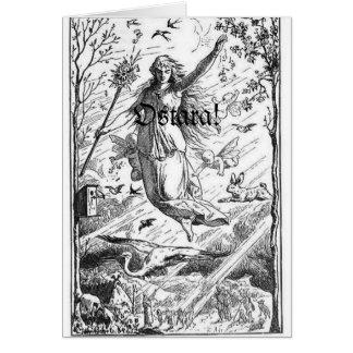 Ostara Spring Equinox Card