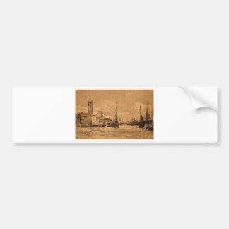 Ostend by Pericles Pantazis Bumper Sticker