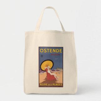 Ostende - Belgique Bolsa Tela Para La Compra