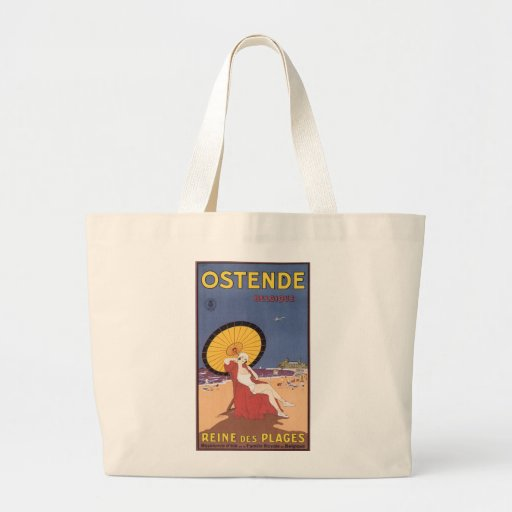 Ostende - Belgique Canvas Bag