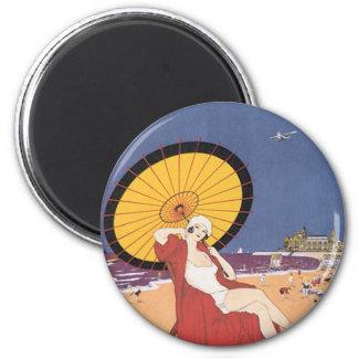Ostende - Belgique 2 Inch Round Magnet