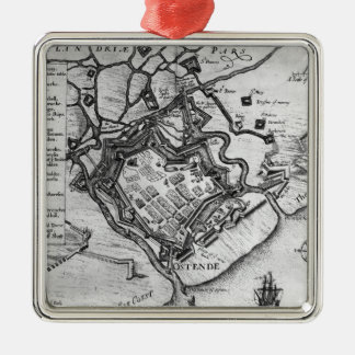 Ostende, from 'Commentaries Christmas Tree Ornament
