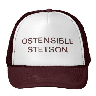OSTENSIBLE STETSON HAT