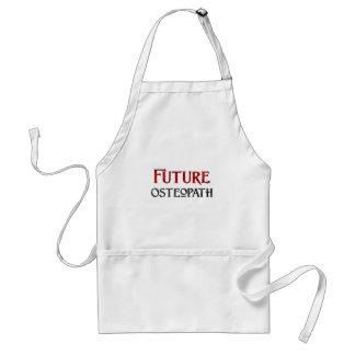 Osteópata futuro delantal