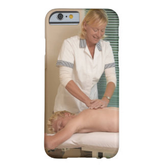 Osteopath/chiropractor manipulating back barely there iPhone 6 case