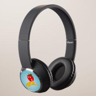 Osteopath Fruit Funny Apple Straightening a Banana Headphones