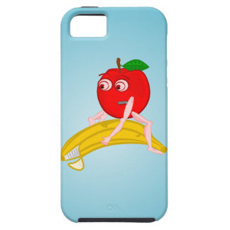 Osteopath Fruit Funny Apple Straightening a Banana iPhone SE/5/5s Case