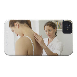 Osteopath treating patient. Case-Mate iPhone 4 cases
