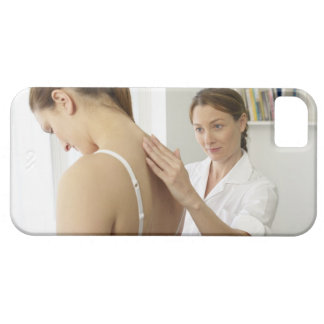 Osteopath treating patient. iPhone SE/5/5s case