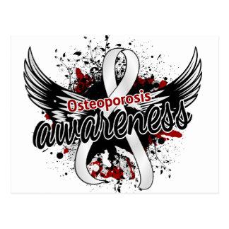 Osteoporosis Awareness 16 Postcard