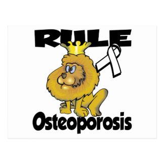 Osteoporosis de la regla postal