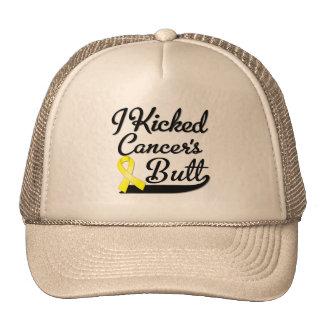 Osteosarcoma Cancer I Kicked Butt Mesh Hats