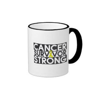 Osteosarcoma Cancer Survivor Strong Ringer Coffee Mug