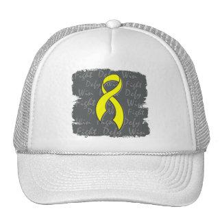 Osteosarcoma Fight Defy Win Trucker Hats